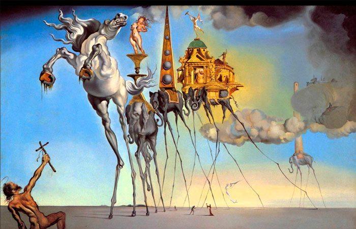Resultado de imagen para El Surrealismo de Dalí