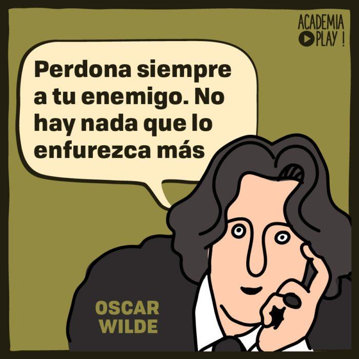 Oscar Wilde Sobre Sus Enemigos