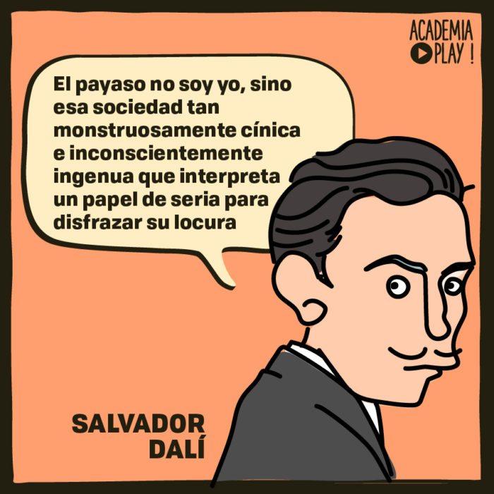 Salvador Dalí Y La Locura De La Sociedad