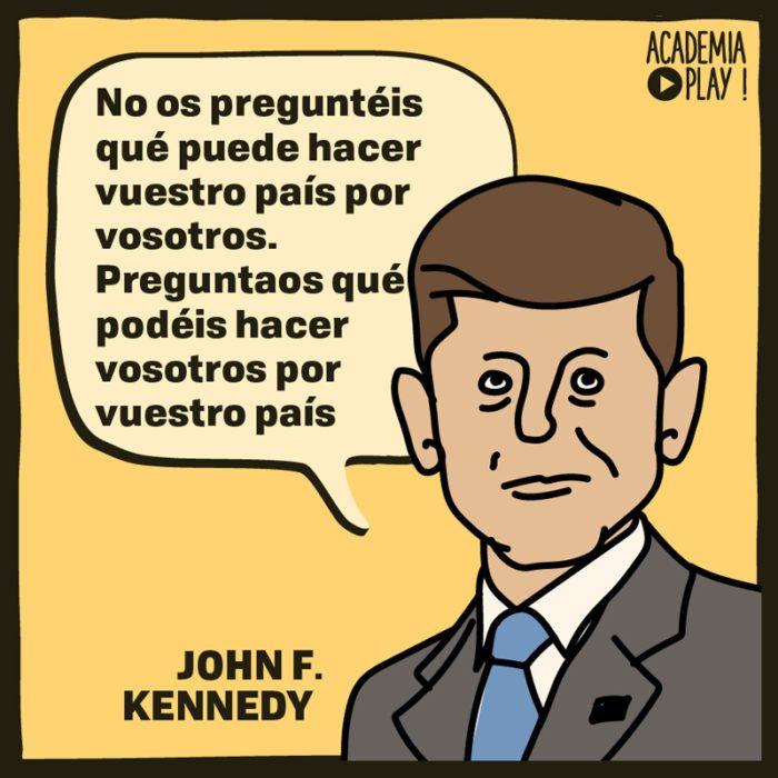 John F Kennedy Y El Deber Social