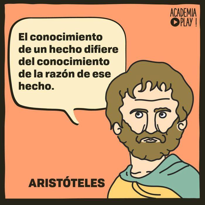 Aristóteles Sobre El Conocimiento