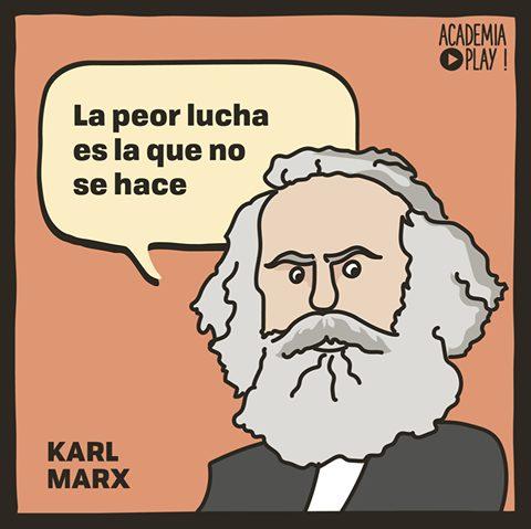 La Peor Lucha Según Karl Marx