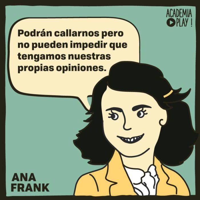 Ana Frank No Fue Silenciada Del Todo
