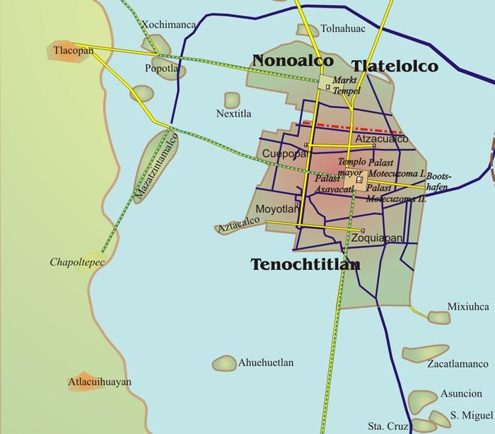 15 datos curiosos sobre la ciudad de Tenochtitlán