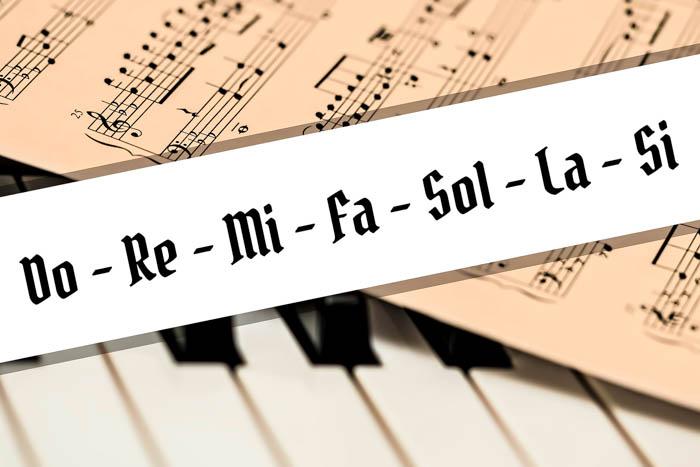 Por Qué Se Llaman Así Las Notas Musicales