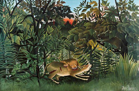 Henri Rousseau león