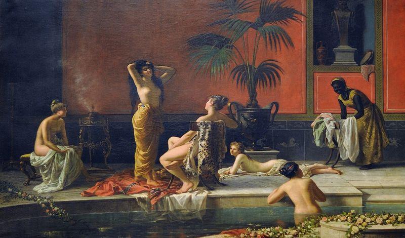 Baño pompeyano