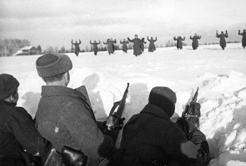 soldados alemanes rendidos