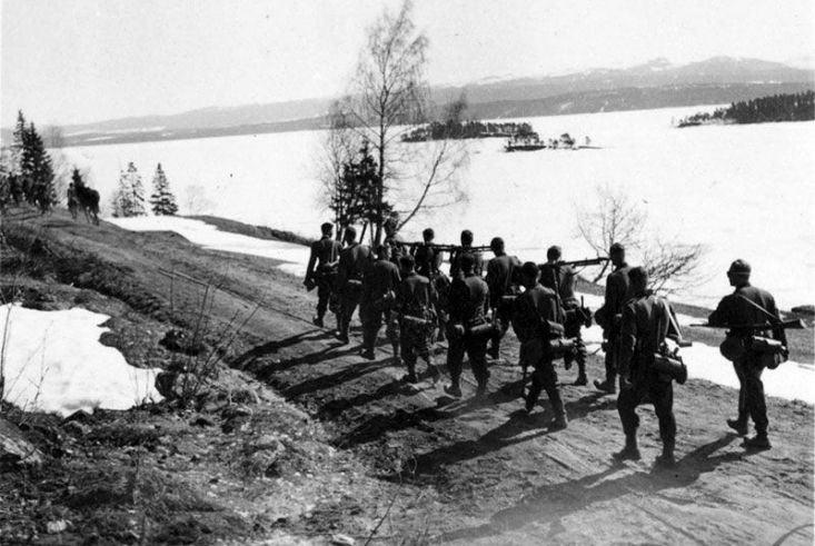 invasión Noruega