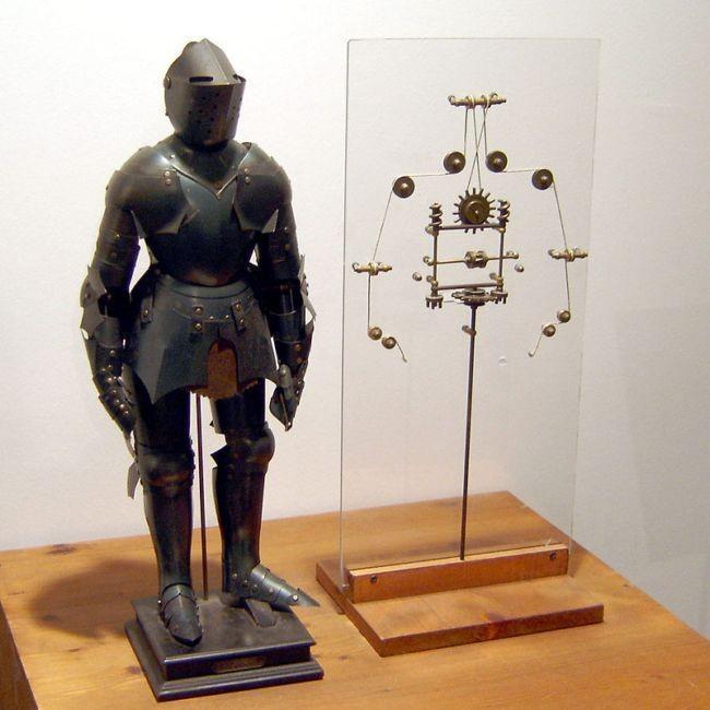 Leonardo da Vinci automata