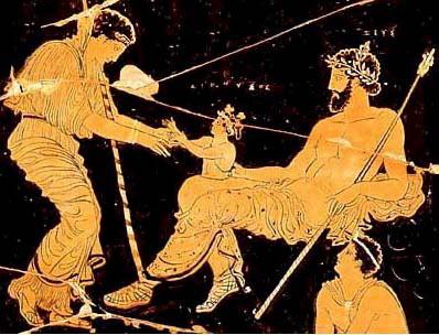 Nacimiento de Dioniso.