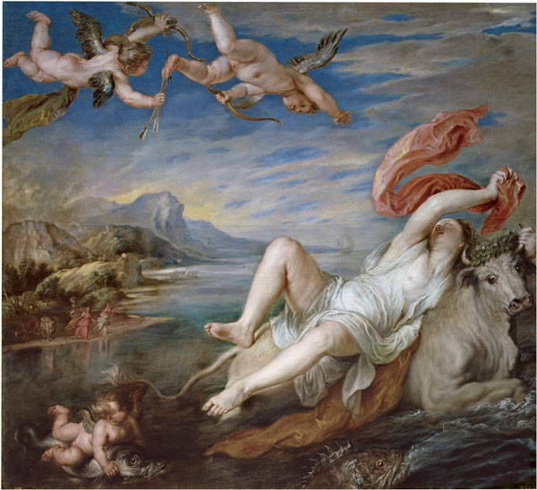 Rapto de Europa Rubens