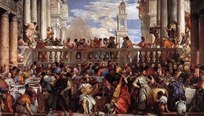 Las bodas de Canáan. Veronese