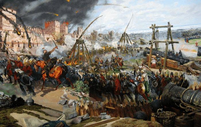 Asedio Constantinopla