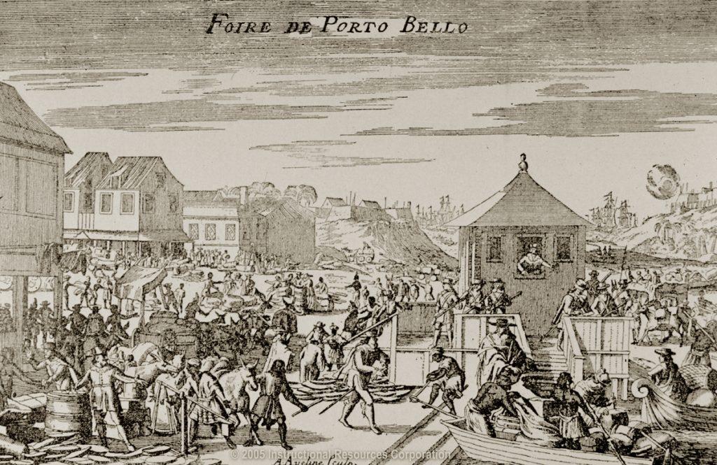 Feria de Portobelo s.XVII