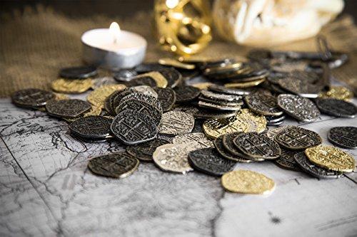 Escudos de oro y reales de plata