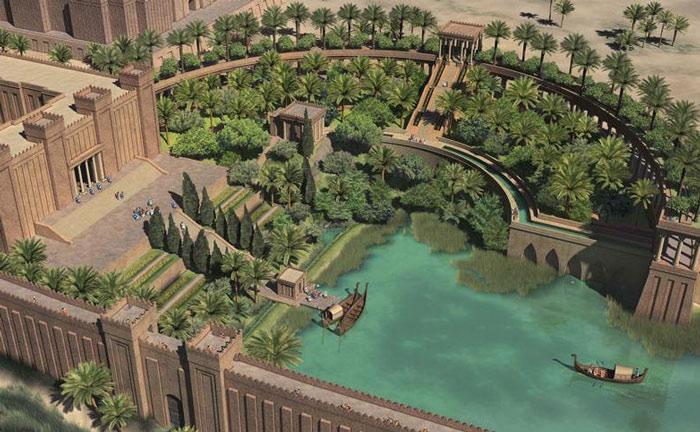 Respecto Al Caso De Los Jardines Colgantes De Ninive