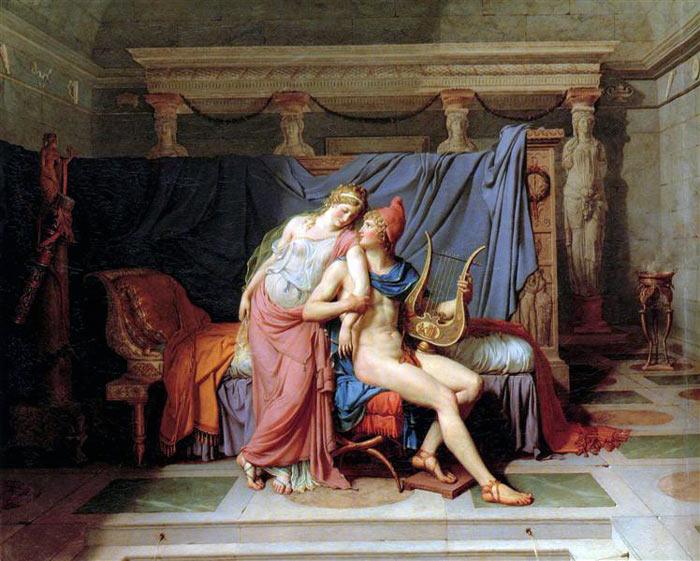 Los amores de Paris y Helena