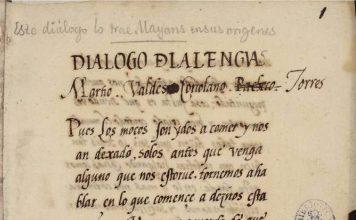 Resultado de imagen de dialogo de la lengua manuscrito